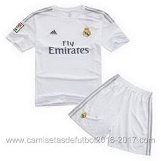 Camisetas Ninos Real Madrid 2015 2016 Primera €14.90