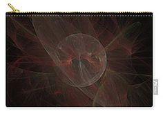 Carry-all Pouch featuring the digital art Saturn In Love by Elena Ivanova IvEA #ElenaIvanovaIvEAFineArtDesign #Decor #Gift #CarryAllPouches