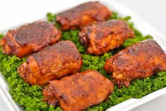 Competition Style Barbeque Chicken Thighs
