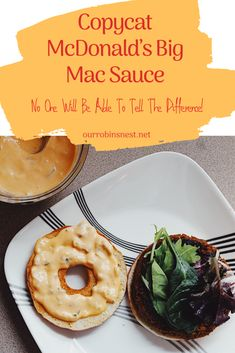New Absolutely Free Copycat McDonald's Big Mac Sauce Big Mac Salad, Healthy Snacks, Healthy Eating, Vegetable Protein, Robins, Copycat, Easy Meals, Easy Recipes, Delicious Recipes