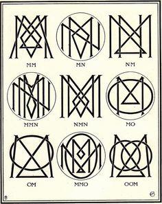 Monograms & Ciphers by AA Turbayne 1912 h