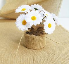 Items similar to Daisies Table Decor White Yellow Daisy Decoration Silk Flowers Reception Artificial Flowers Table Centerpiece Flower Fabric Rustic on Etsy Daisy Decorations, Daisy Centerpieces, Table Centerpieces, Table Decorations, Silk Flowers, Fabric Flowers, Paper Flowers, Beer Day, Elegant Table