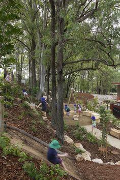 Wilderness Playground at Indooroopilly Montessori Children's House, QLD