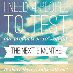 Contact me today  http://newlifestylenow.myitworks.com