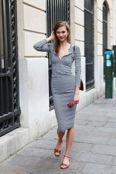 casual chic Karlie Kloss
