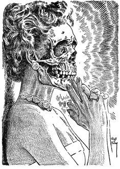 Virgil Finlay, possible tattoo idea?