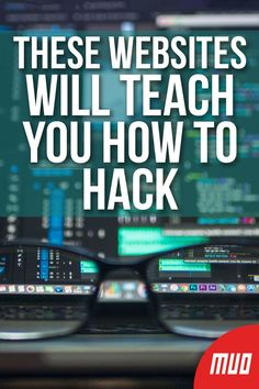 5 Websites That Teach You How to Hack Legally --- If you're an ethical hacker, it can be hard to put your skills to the test without harming anyone. Fortunately, there are resources that give you a sandbox to hack in, giving you a place to learn while al Basic Computer Programming, Learn Computer Coding, Life Hacks Computer, Computer Basics, Computer Help, Computer Security, Computer Hacking, How To Learn Computer, Computer Books