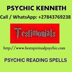 Social Media Psychic Healer Kenneth, Call WhatsApp: +27843769238