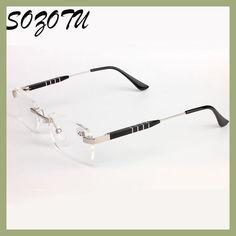 SOZOTU AL-MG Frame Magnetic Reading Glasses Men Women Diopter Presbyopic Elderly Eyeglasses +1.0+1.5+2.0+2.5+3.0+3.5 YQ142