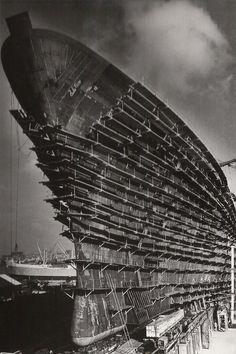 Bouw SS Rotterdam