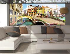 Fotomural paseo por la Venecia clásica #fotomural #mural #pared #decoracion #deco #TeleAdhesivo #venecia