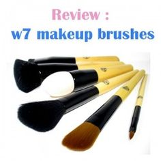http://www.pintalabios.info/en/reviews/view/en/3 New #review on pintalabios.info Review of w7 makeup brushes Review of w7 makeup brushes  All of the W7 Professional Makeup Brushes have lovely, solid, wooden handles with black, metal ferrule's which I really like, they fit perfectly in my hands and are weighted enough for easy The bristles of all the W7 makeup brushes are synthetic and feel so amazingly soft, this pleasantly surprised me because I expected something totally different from a…