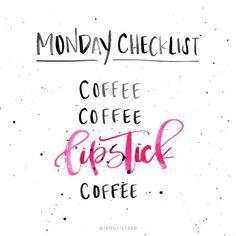 Monday coffee quote
