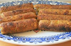Vegan Italian Sausage. I'm going to make this with Butler Soy Curls instead of tofu and I'm going to se Fennel instead ot Tarragon. Can't wait!