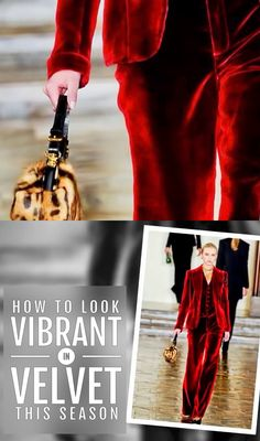 Want to Wear Velvet but don't know how? Watch this video