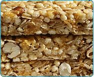 Kid-friendly, healthy granola bars