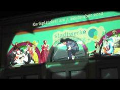 "Stadtwerke Heidelberg, Guerilla Marketing Aktion ""Sprayer"""