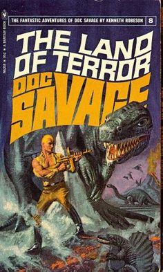 Doc Savage Books 8