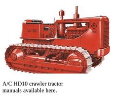 22 Best Allis Chalmers tractor manuals you can download