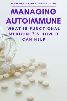 If you're unhappy with your conventional autoimmune treatment, functional medicine may offer other solutions to managing and even reversing symptoms. #autoimmunediseasefunctionalmedicine #whatisfunctionalmedicine #autoimmunediseasetreatment