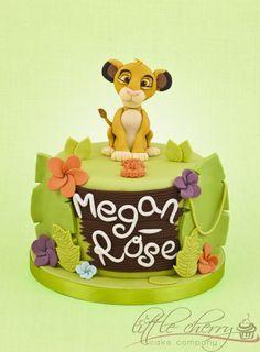 Lion King Cake - by littlecherry @ CakesDecor.com - cake decorating website