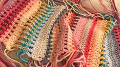 Stripes and Colours Blanket – Introduction – CrochetObjet