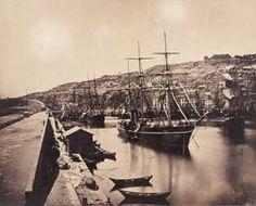 Gustave Le Gray, port de Sète - Port et ville de Sète, 1856/1857..