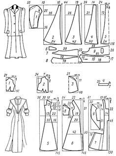 Костюм реформ из английской ткани в клетку, состоящий из короткой юбки и жакета. Расход материалов: 5,5 м шерсти двойной ширины, 4,5 м подкл...