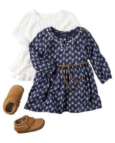Baby Girl CARAUGUST1F16 from Carters.com. Shop clothing & accessories from a trusted name in kids, toddlers, and baby clothes. #babyclothes