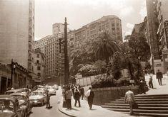 Ladeira da Memória; ao fundo rua Xavier de Toledo - foto de 1966