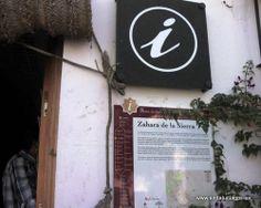 """#Cádiz - Zahara de la Sierra - Oficina de Turismo - 36º 50' 25"""" -5º 23' 25"""" /  Es a su vez punto de información de la Ruta de los Almorávides y los Almohades. Aunque son muchos los pueblos de la serranía gaditana que compiten en belleza, la estampa de Zahara impresiona de modo especial. Fuente: rutalegadoandalusi.es ."""