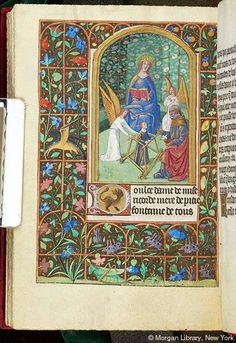 Book of Hours, MS G.4 fol. 140v - Images from Medieval and Renaissance Manuscripts - The Morgan Library & Museum