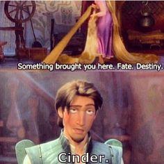 It's always Cinder...
