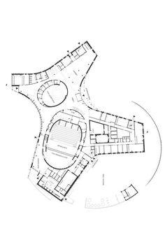 Sami Cultural Center Sajos in Inari, Finland - Architektur Cultural Architecture, Theater Architecture, Romanesque Architecture, Sacred Architecture, Education Architecture, Classic Architecture, Commercial Architecture, Concept Architecture, Drawing Architecture