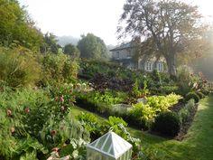 Beautiful English Countryside garden.