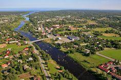 River Kalajoki, Northern Ostrobothnia Finland. - Pohjois-Pohjanmaa - Norra Österbotten