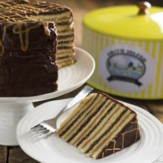 Chocolate and Peanut Butter Smith Island Cake | Smith Island Cakes Online
