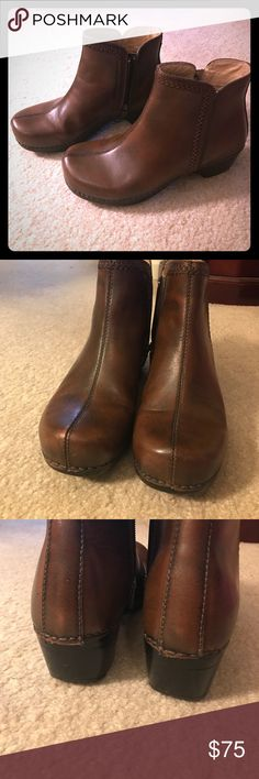 Spotted while shopping on Poshmark: Dansko- brown, size 39 (8) boots! #poshmark #fashion #shopping #style #Dansko #Shoes