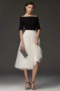 Holiday party outfit dresses tulle skirts 63 Ideas for 2019 Dinner Party Outfits, Holiday Party Outfit, Holiday Outfits, Classy Party Outfit, Holiday Party Dresses, Holiday Parties, Mode Outfits, Skirt Outfits, Dress Skirt