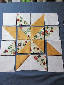 Evening Star Quilters: Variable Star Quilt Block ( 12.5 inch )