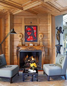 An eclectic space for reading, chatting, knitting, whatever. Sela Ward's Stylish Bel Air Home With a Southern Soul - Traditional Home