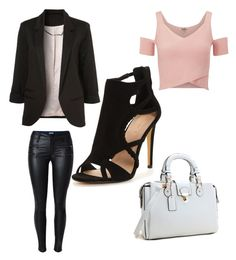 """Classy but casual"" by aleksaaryal on Polyvore featuring Lipsy"