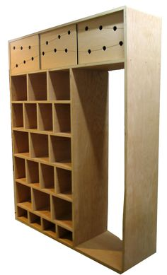 cubbies outside or inside Studio for shoe/mat storage