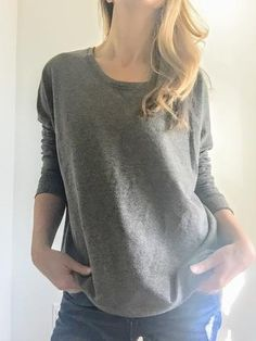 Alternative Apparel Eco Friendly Recycled Sunset Crew Sweatshirt