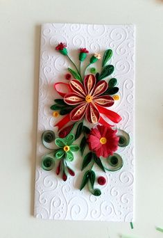 quilling flower Quilling Cards, Facebook Sign Up, Crochet, Flowers, How To Make, Ganchillo, Crocheting, Royal Icing Flowers, Knits