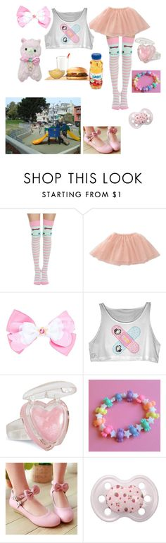 """""""playground then burger king, yay!"""" by zozo-chan ❤ liked on Polyvore featuring Disney, ElevenParis and Sidewalk"""