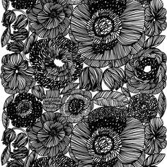 Marimekko black and white