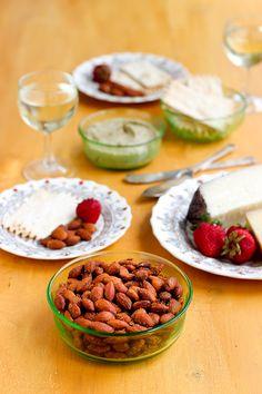 Homemade Smokehouse Almonds - #recipe at cali-zona.com