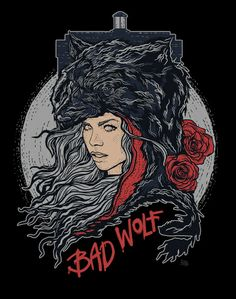 """I am the Bad Wolf. I create myself. I take the words. I scatter them, in time and space. A message, to lead myself here."""