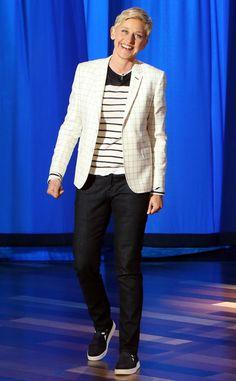 Ellen DeGeneres Replacing David Letterman? Watch the Host's Hilarious Late Show Monologue!  Ellen DeGeneres